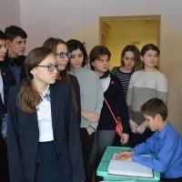 Посещение гимназистами детского дома